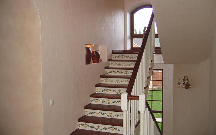 Загородный дом. холл из проекта , фото №19157