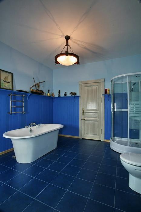 Загородный дом. ванная из проекта , фото №19330