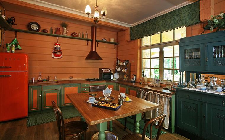 Загородный дом. кухня из проекта , фото №19340