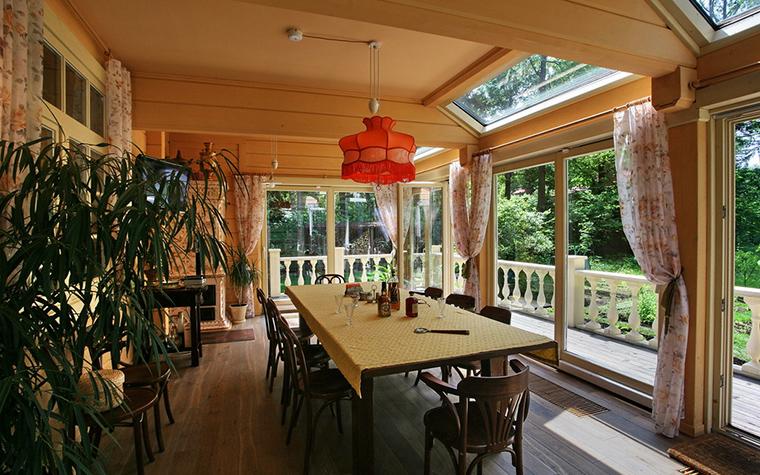 Загородный дом. столовая из проекта , фото №19333