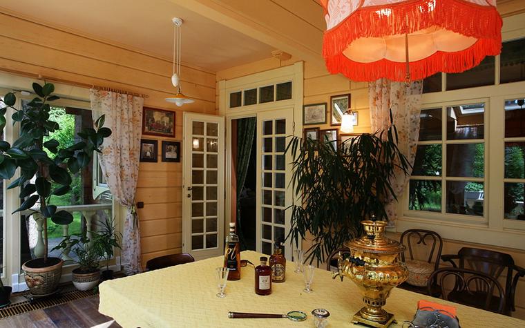 Загородный дом. столовая из проекта , фото №19338