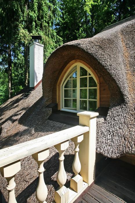 Загородный дом. терраса  из проекта , фото №19324