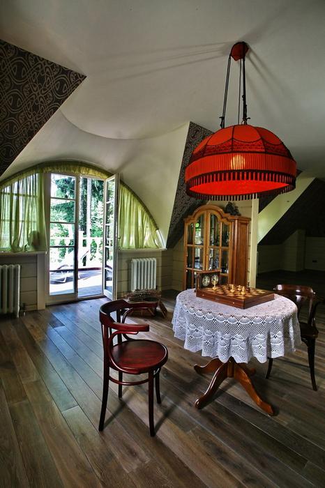 Загородный дом. комната отдыха из проекта , фото №19331