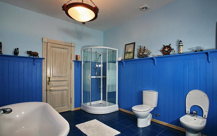 Загородный дом. ванная из проекта , фото №19328