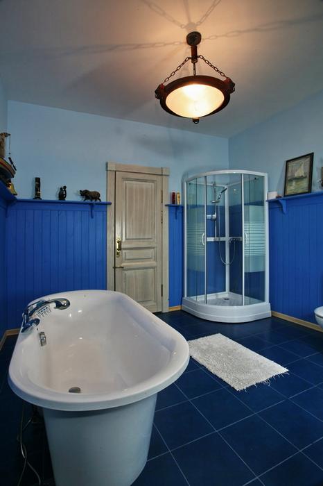 Загородный дом. ванная из проекта , фото №19329