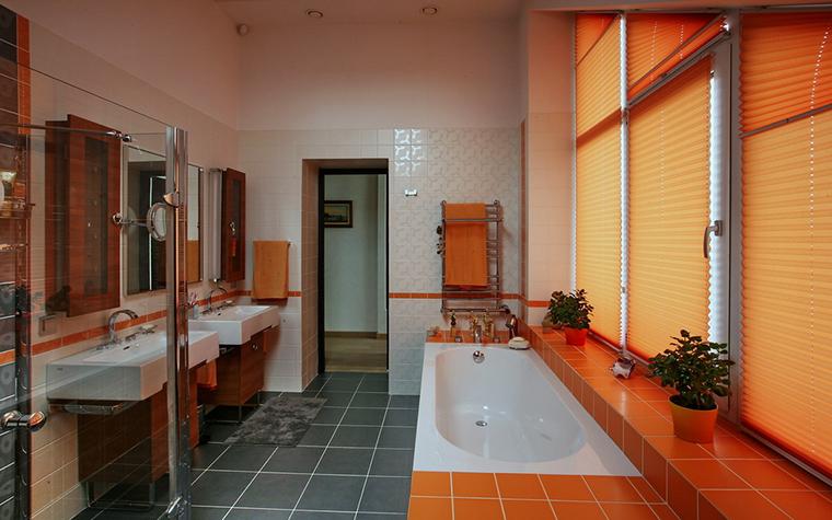 Загородный дом. ванная из проекта , фото №19371