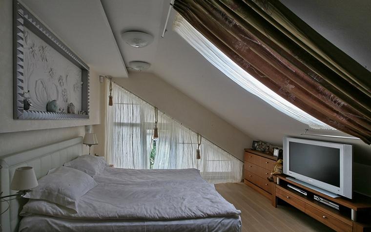 Фото № 19373 спальня  Загородный дом