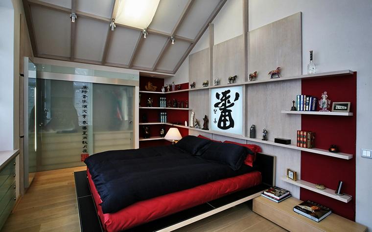 Фото № 19368 спальня  Загородный дом