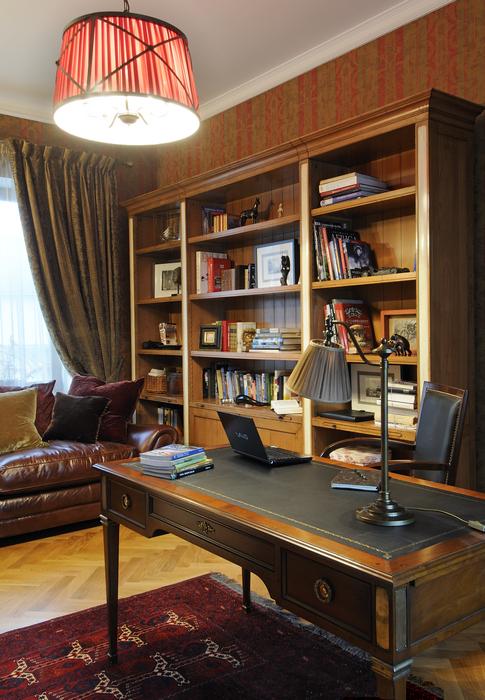интерьер кабинета - фото № 19426