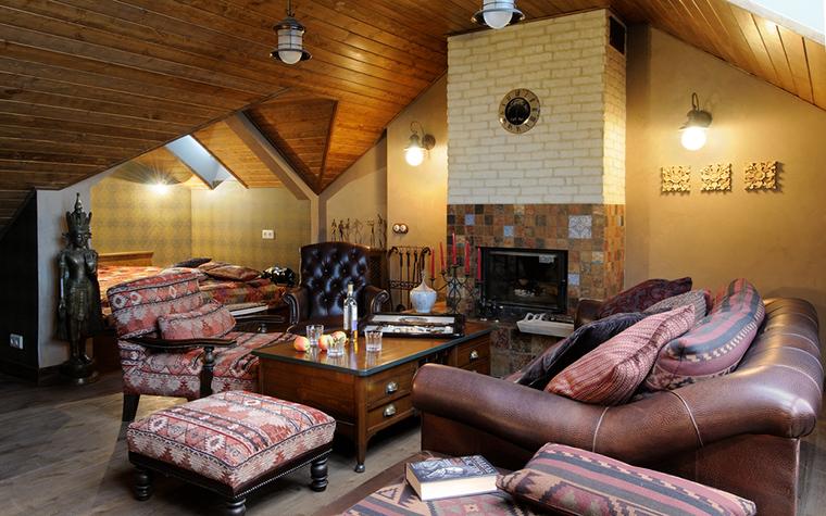 интерьер гостиной - фото № 19423