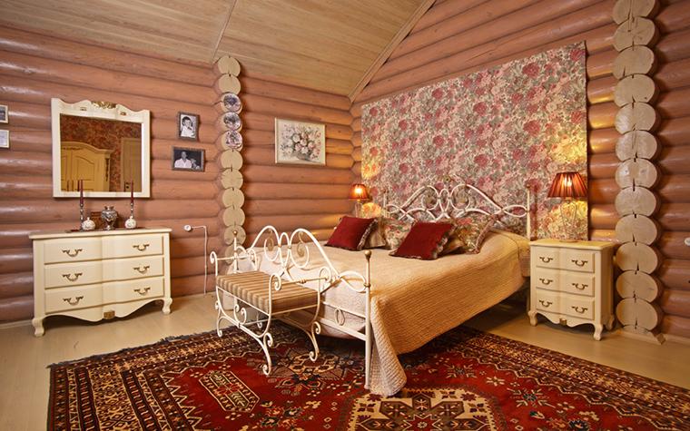 Фото № 19706 спальня  Загородный дом