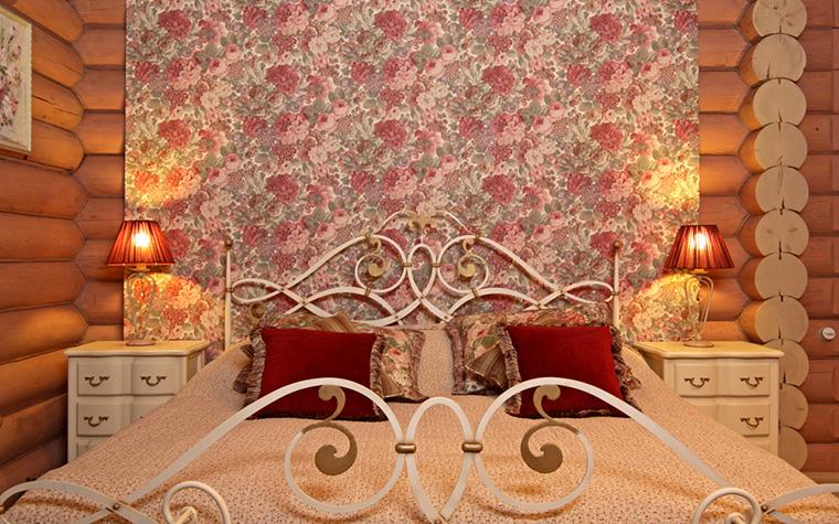 Фото № 19708 спальня  Загородный дом