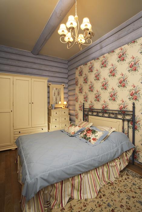 Фото № 19709 спальня  Загородный дом