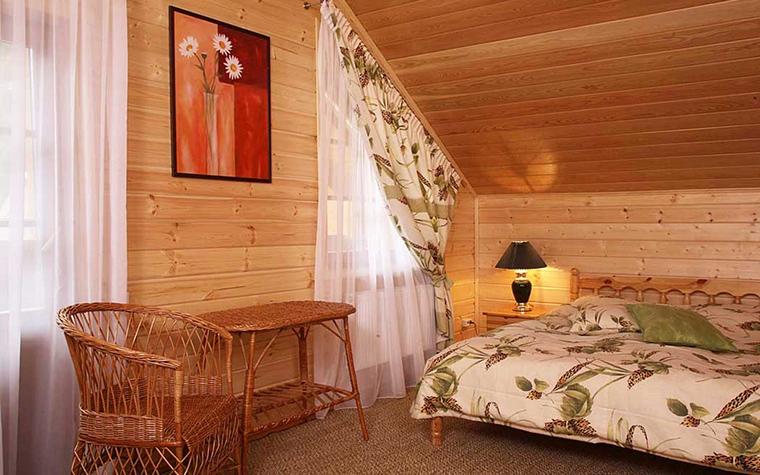 Фото № 19732 спальня  Загородный дом