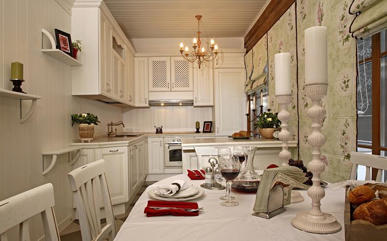 Загородный дом. кухня из проекта , фото №19986