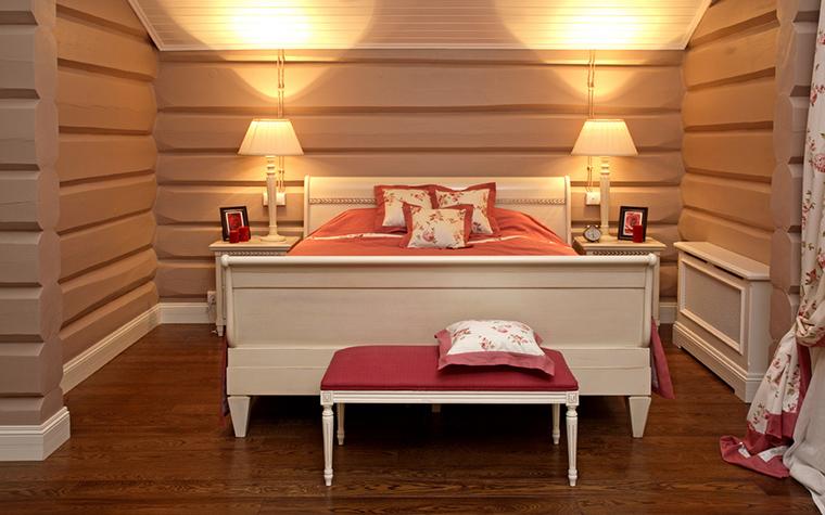 Фото № 19996 спальня  Загородный дом