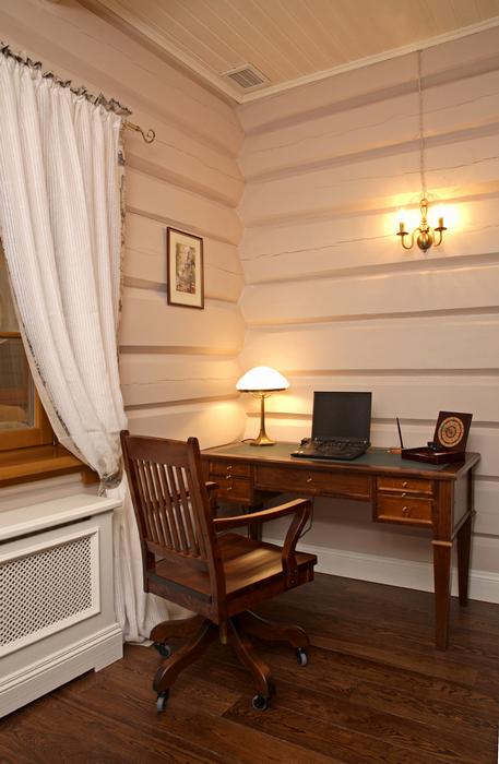 Фото № 19998 спальня  Загородный дом