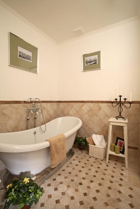 Загородный дом. ванная из проекта , фото №20003