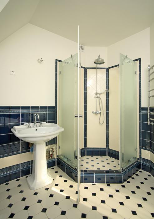 Загородный дом. ванная из проекта , фото №20028