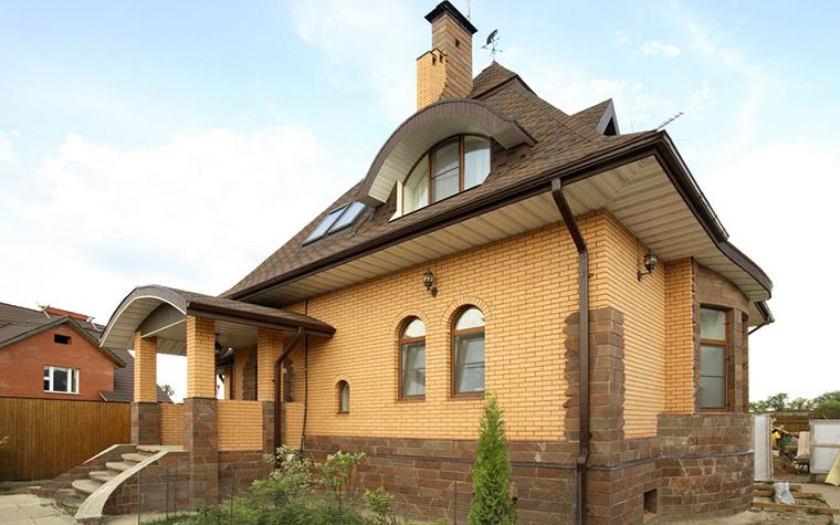 Загородный дом. фасад из проекта , фото №20033