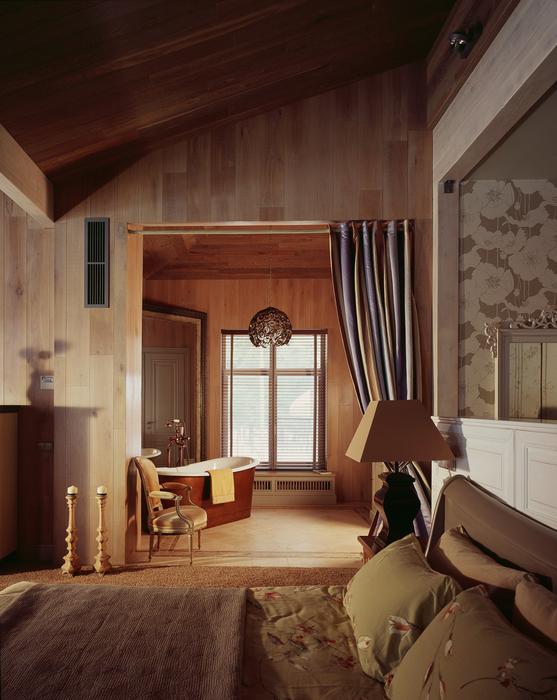 Загородный дом. спальня из проекта , фото №20173