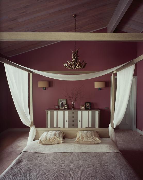 Фото № 20174 спальня  Загородный дом