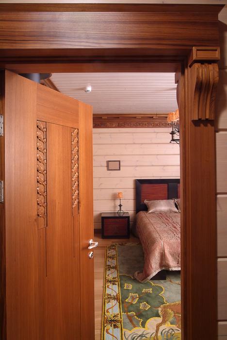 Загородный дом. спальня из проекта , фото №20319