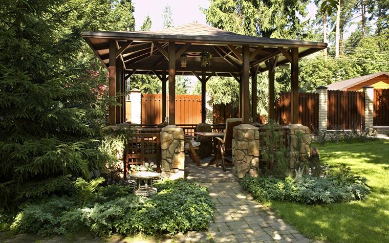 Загородный дом. беседка из проекта , фото №20557