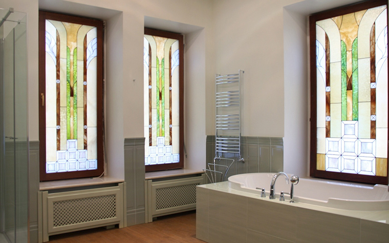 Фото № 20743 ванная  Загородный дом