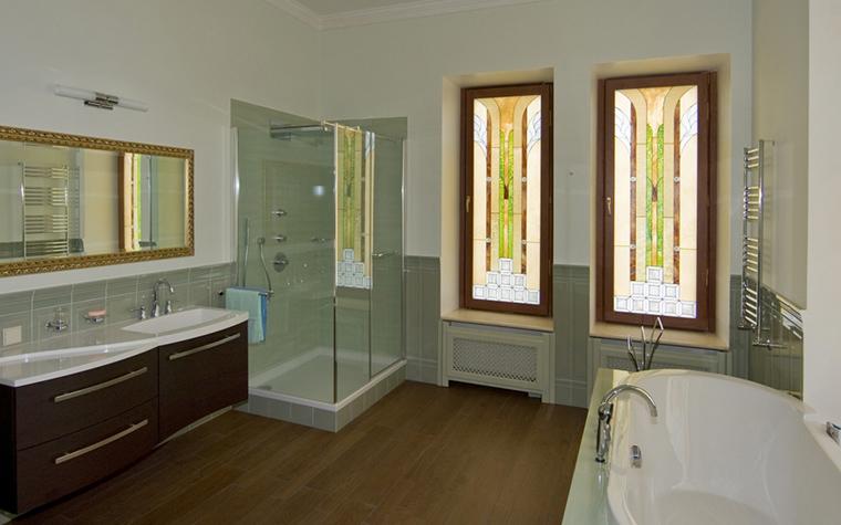 Фото № 20744 ванная  Загородный дом