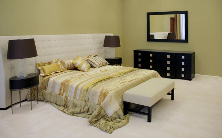 Фото № 20636 спальня  Загородный дом