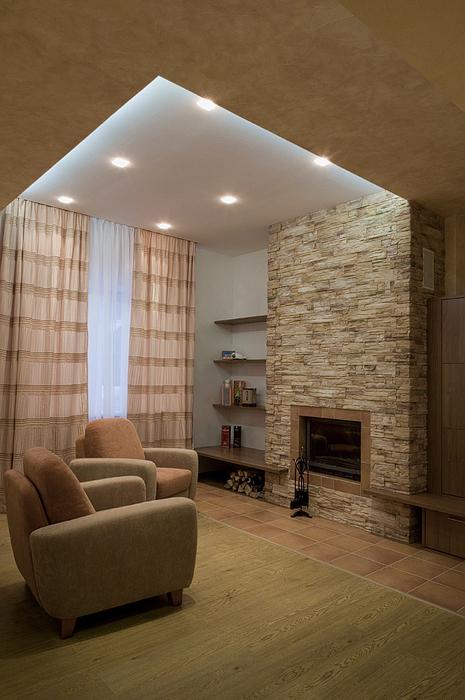 интерьер гостиной - фото № 20648