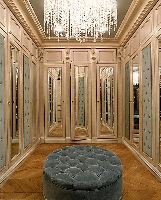 интерьер гардеробной - фото № 16516