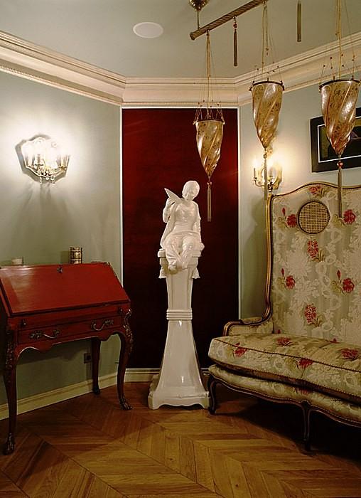 интерьер гостиной - фото № 16523
