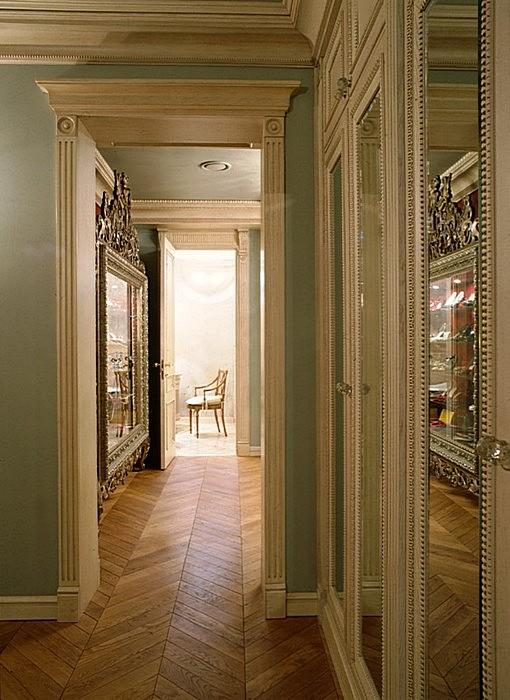 интерьер гардеробной - фото № 16517