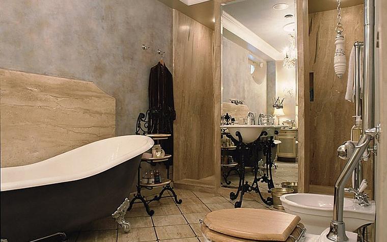 Фото № 16513 ванная  Загородный дом