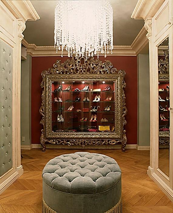 интерьер гардеробной - фото № 16518