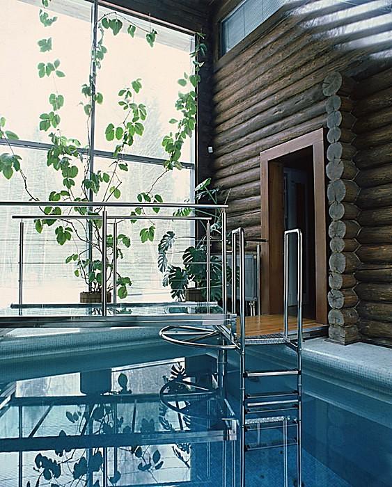 Загородный дом. бассейн из проекта , фото №10826