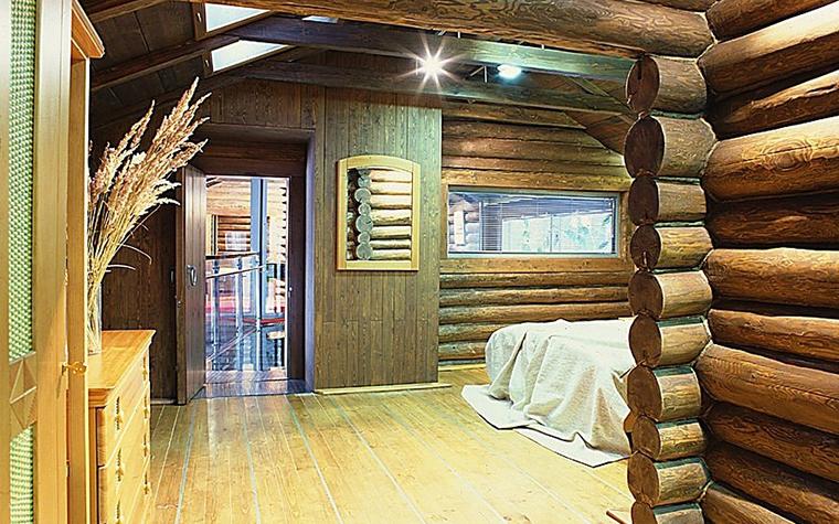 Загородный дом. спальня из проекта , фото №10836