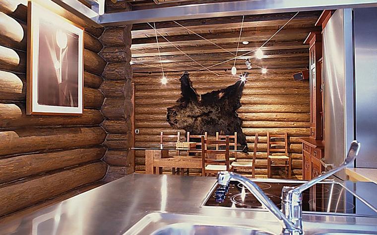 Загородный дом. кухня из проекта , фото №10833
