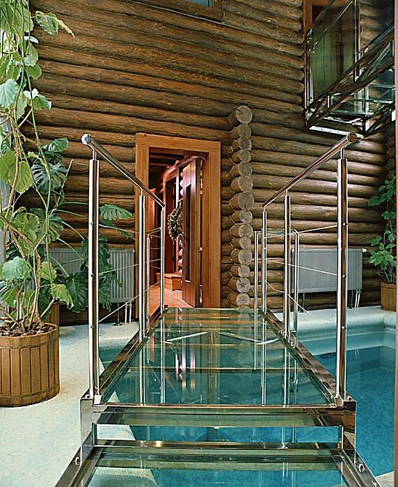 Загородный дом. бассейн из проекта , фото №10829
