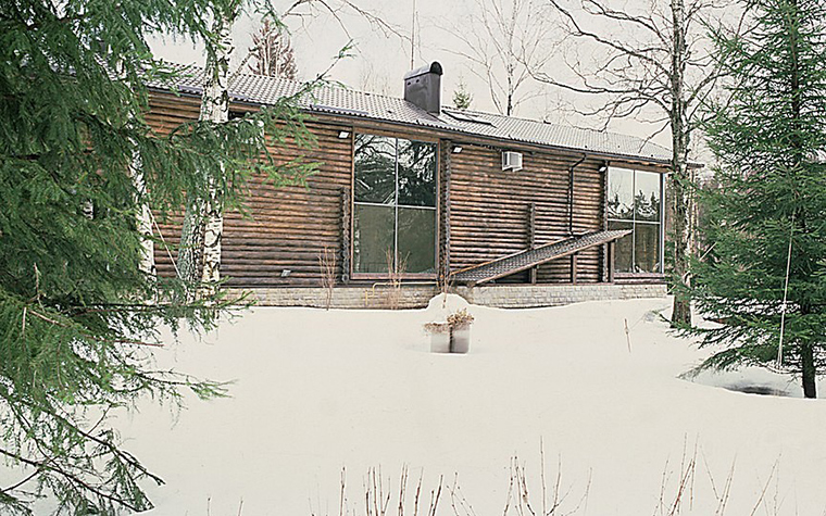 Загородный дом. фасад из проекта , фото №10819