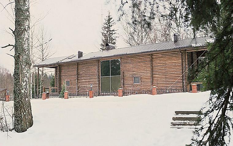 Загородный дом. фасад из проекта , фото №10820