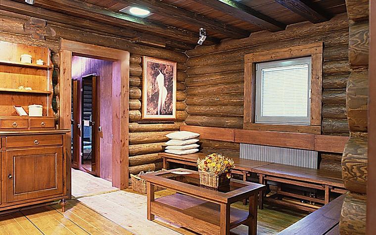 Загородный дом. холл из проекта , фото №10835