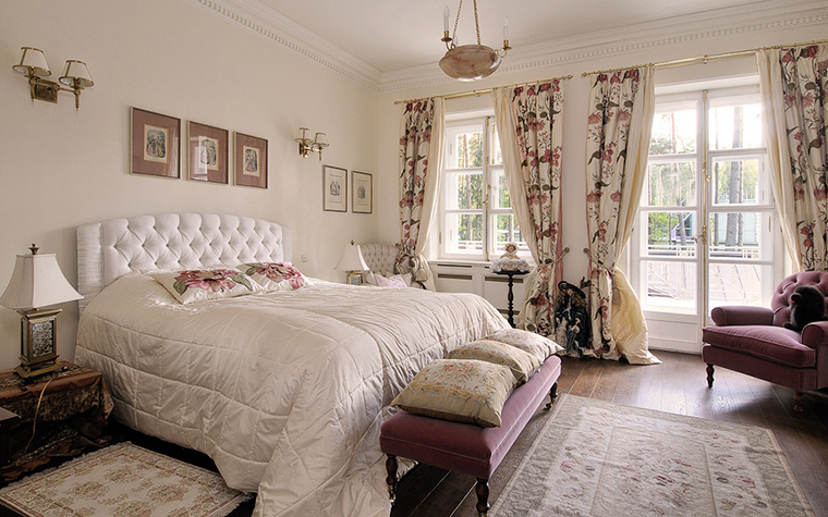 интерьер спальни - фото № 20500