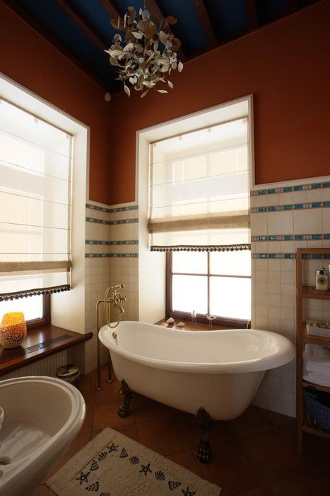 Загородный дом. ванная из проекта , фото №14985