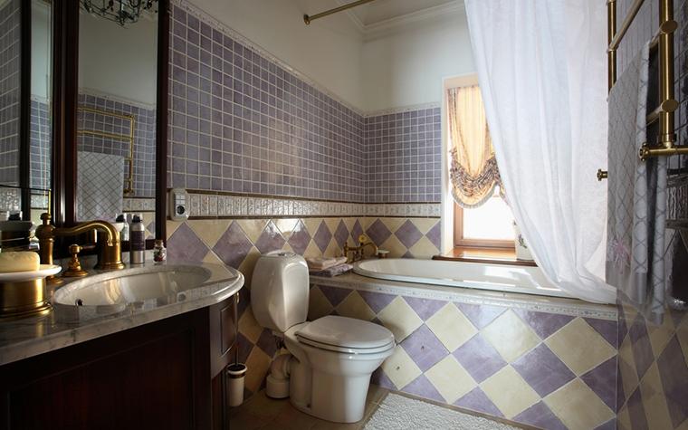Загородный дом. ванная из проекта , фото №14988