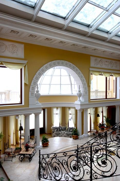 Загородный дом. холл из проекта , фото №14965
