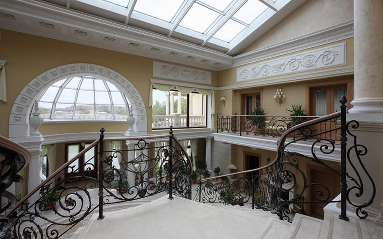 Загородный дом. холл из проекта , фото №18586