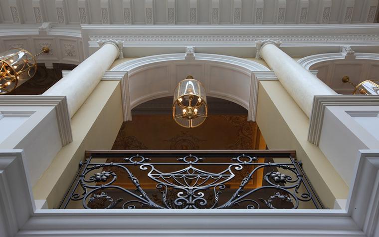 Загородный дом. холл из проекта , фото №18601